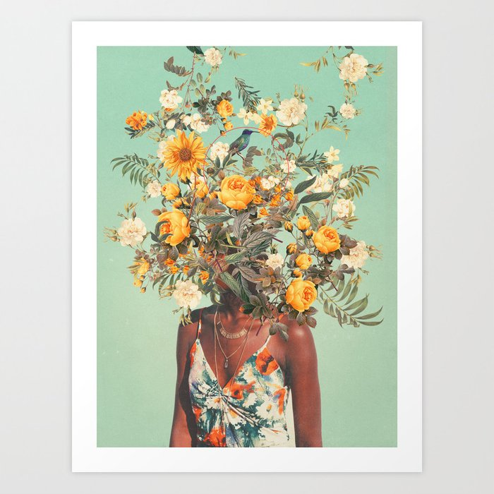 art collecting tips - surreal print by Frank Moth