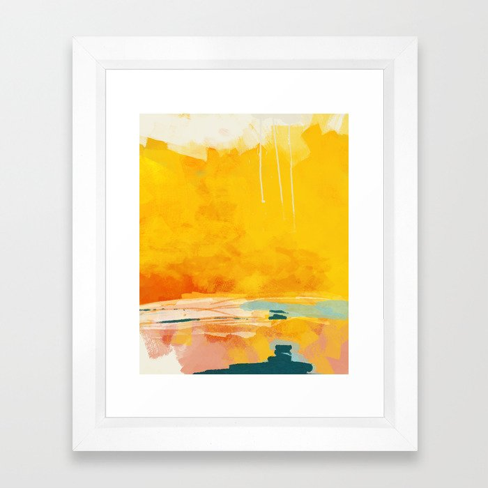 art collecting tips - abstract art print