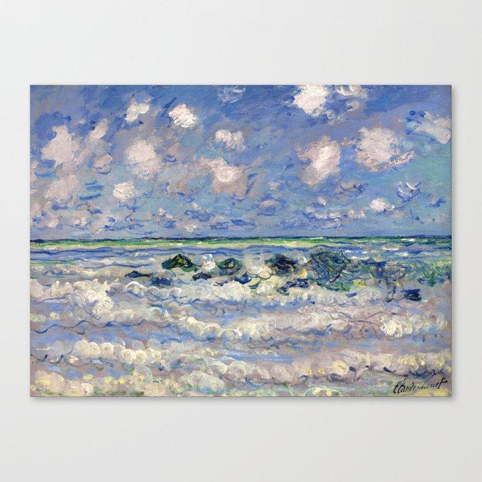 art collecting tips - impressionist art canvas print