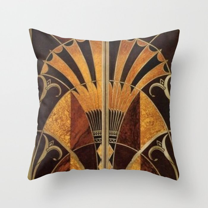 contemporary art pillow