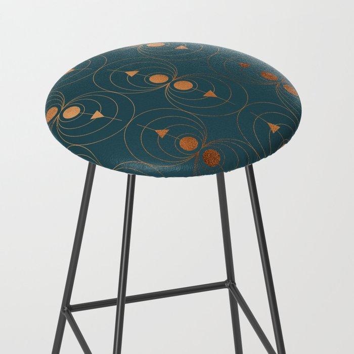 contemporary art bar stool
