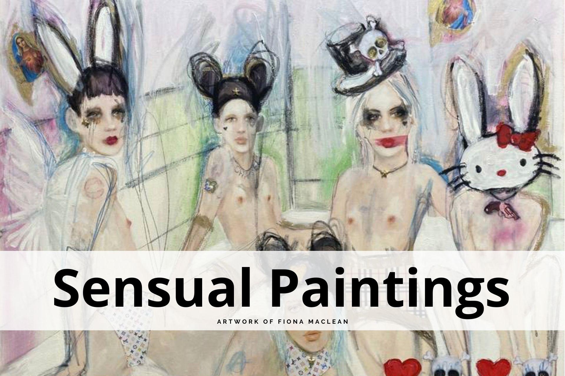 sensual paintings