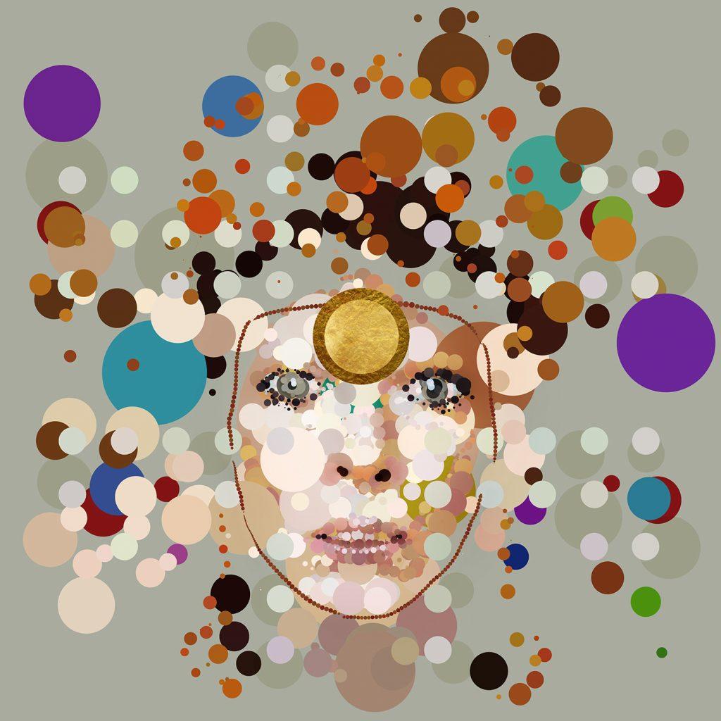 digital art of David Bowie