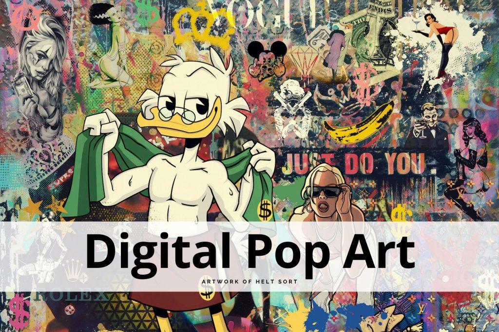 digital pop art