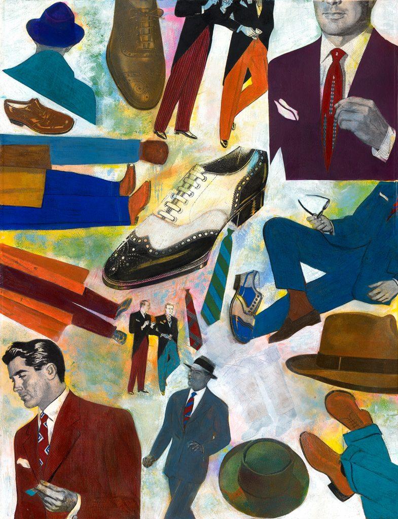 pop art collage