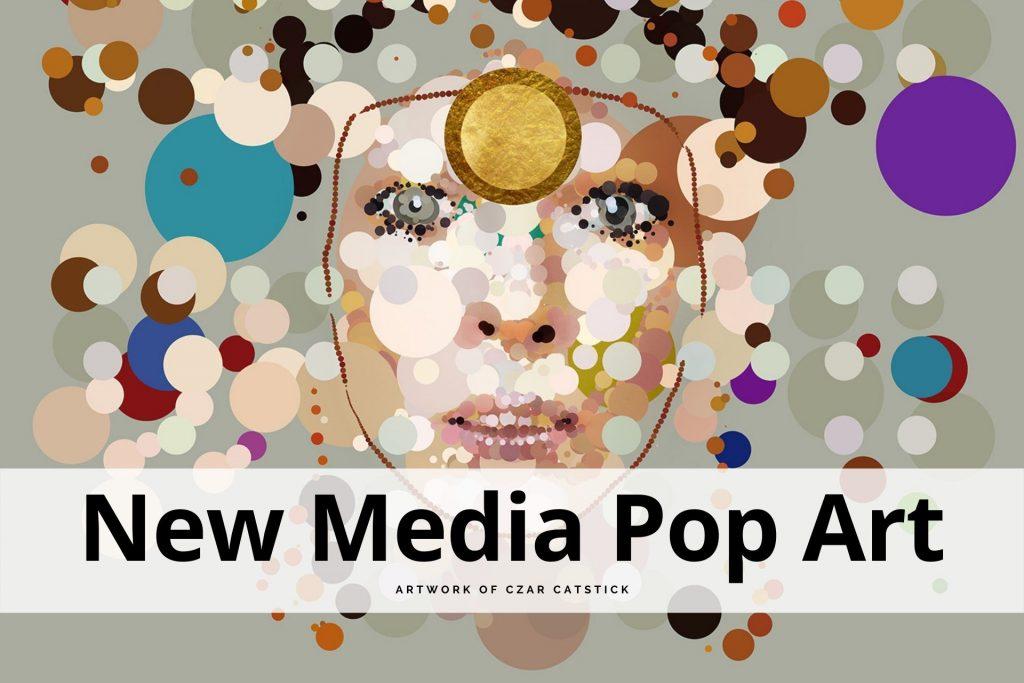 new media pop art