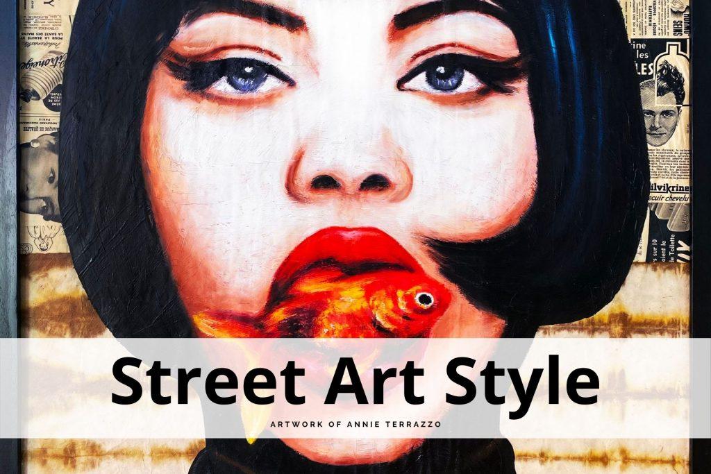 street art style