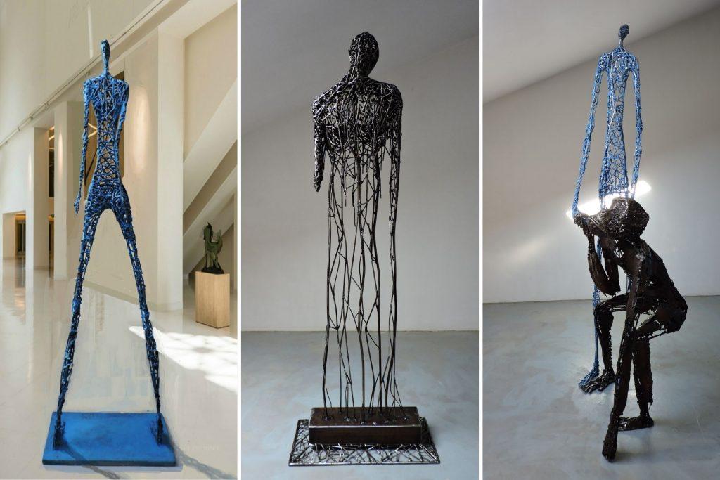wire sculpture artist
