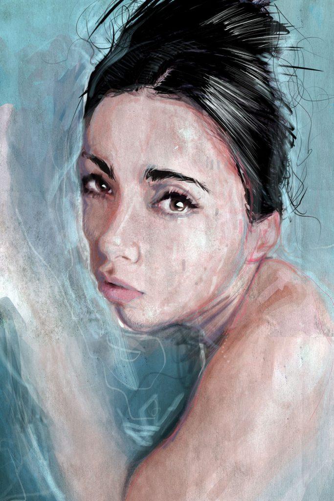 Distressed Portrait 403