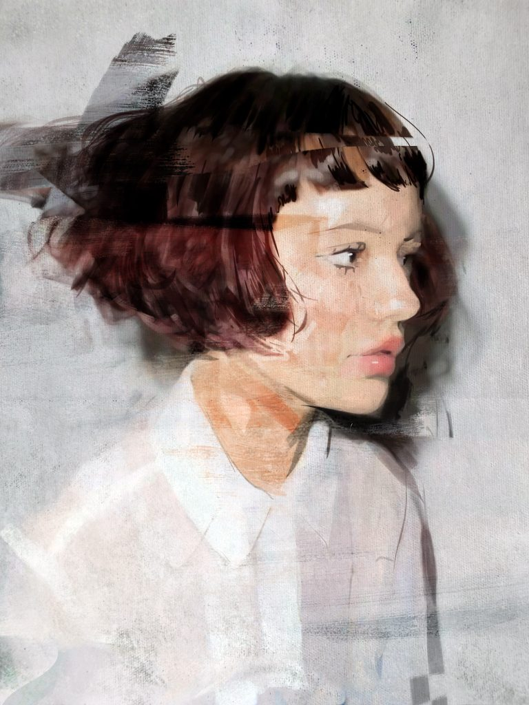 Distressed Portrait 419