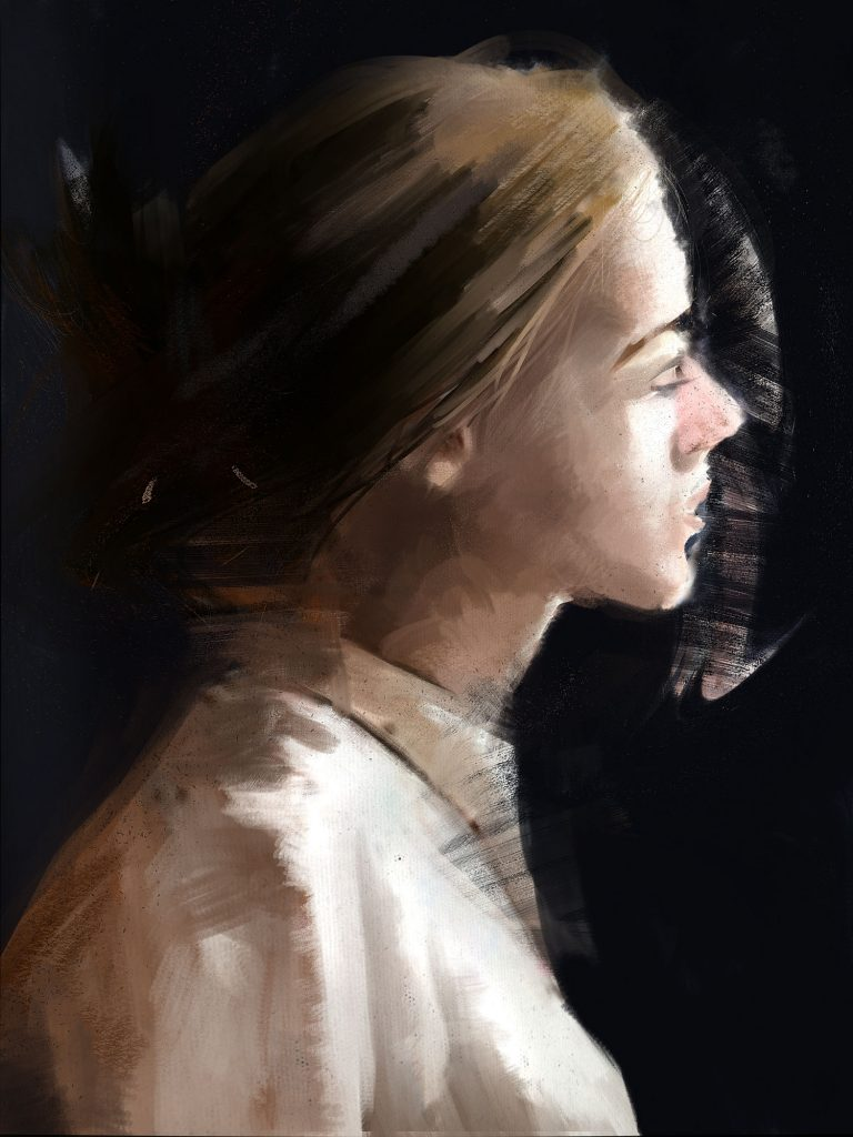 Distressed Portrait 425