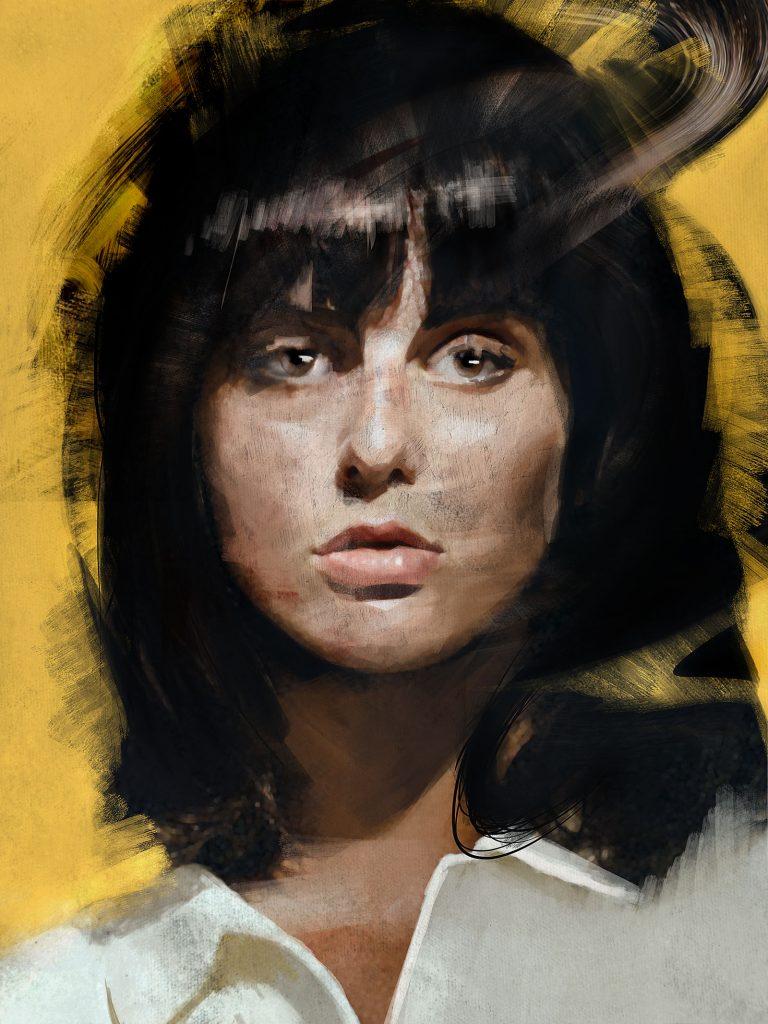 Distressed Portrait 429