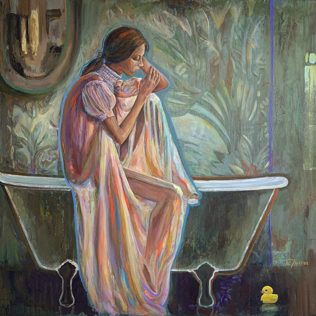 La baigneuse by DUCROS BATHROOM ART THEME