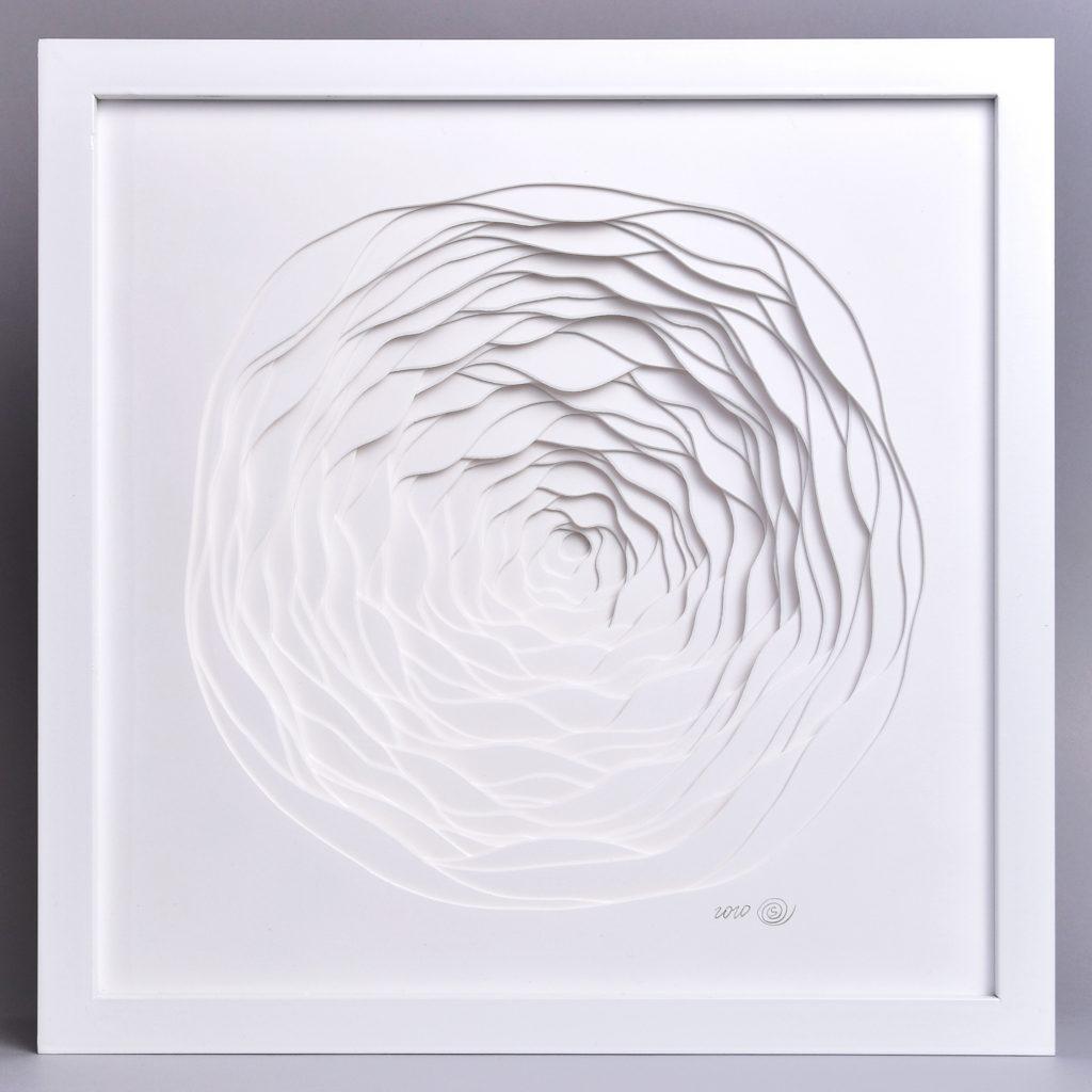 Snow Portal Paper Wall art