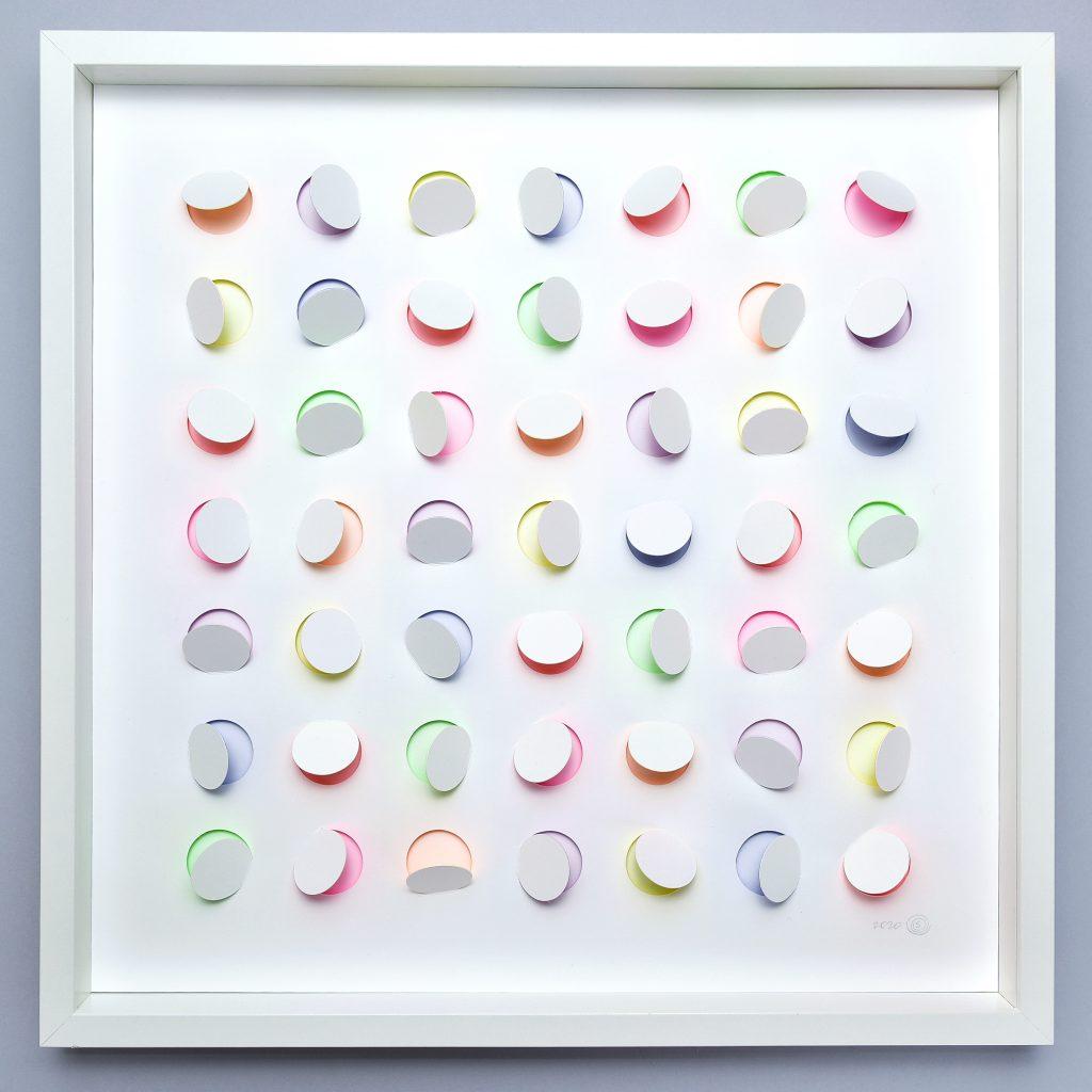 Paper Wall Art, Hidden Colors