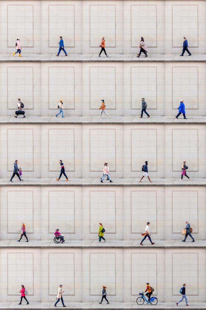 Time-Lapse. Boylston Street, Boston