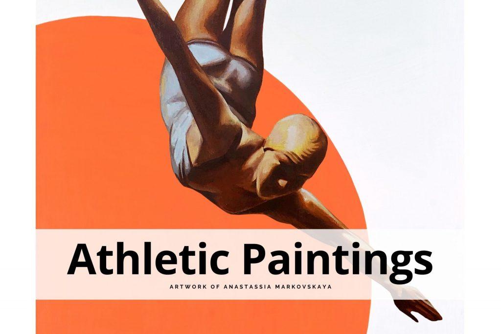 athletic paintings