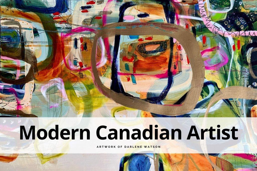 modern Canadian artist