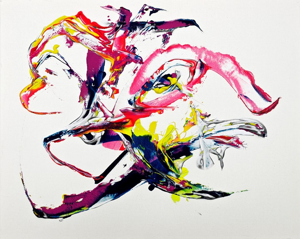 Subconscious Evolution Ecosystem Theorem Painting