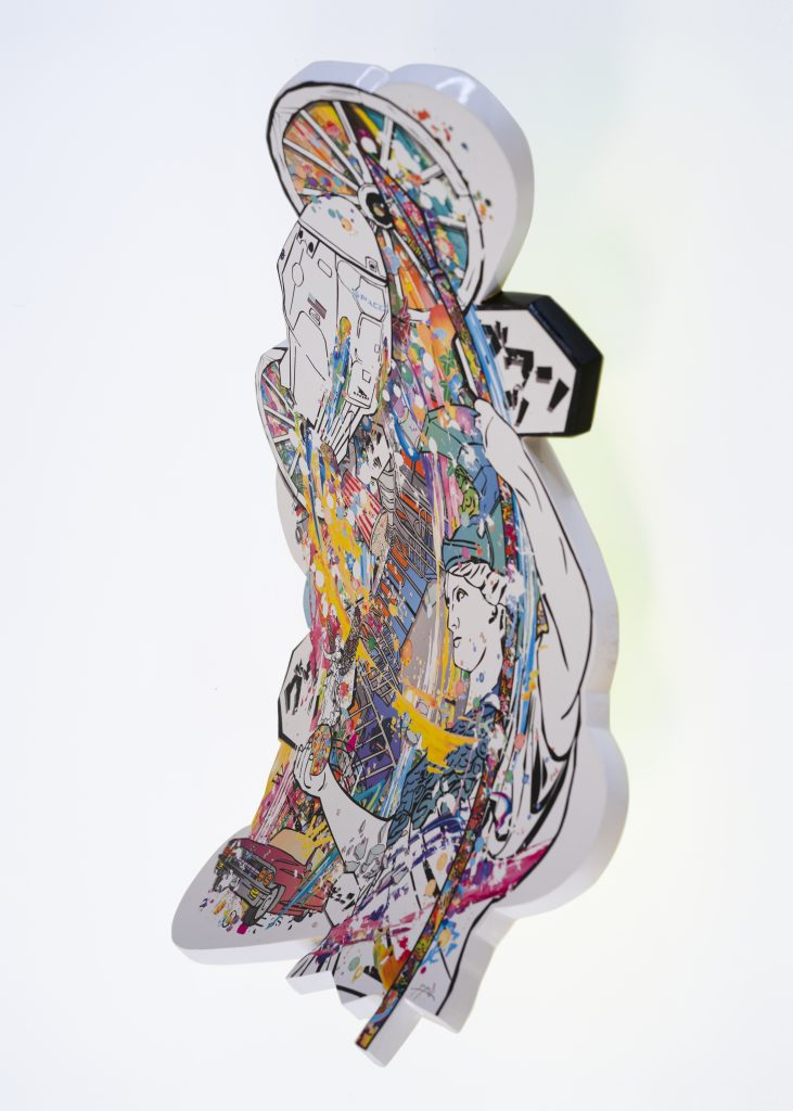 Days_03_Model_A skateboard artwork