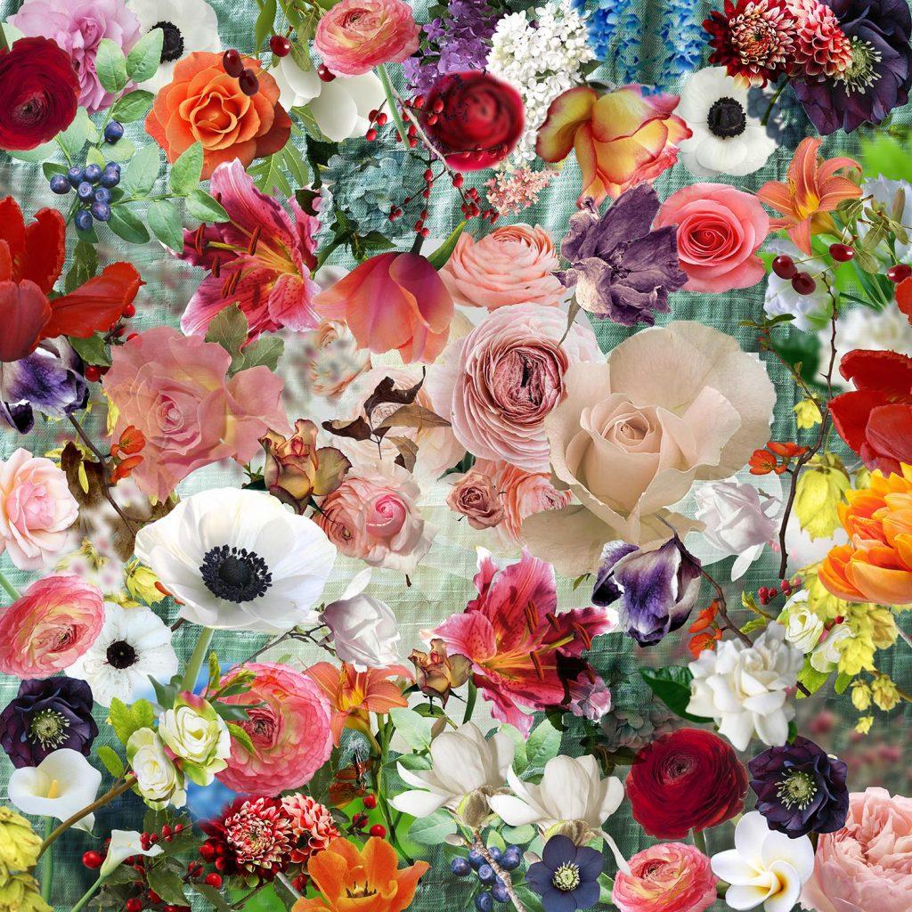 Edem garden-3 flower art print