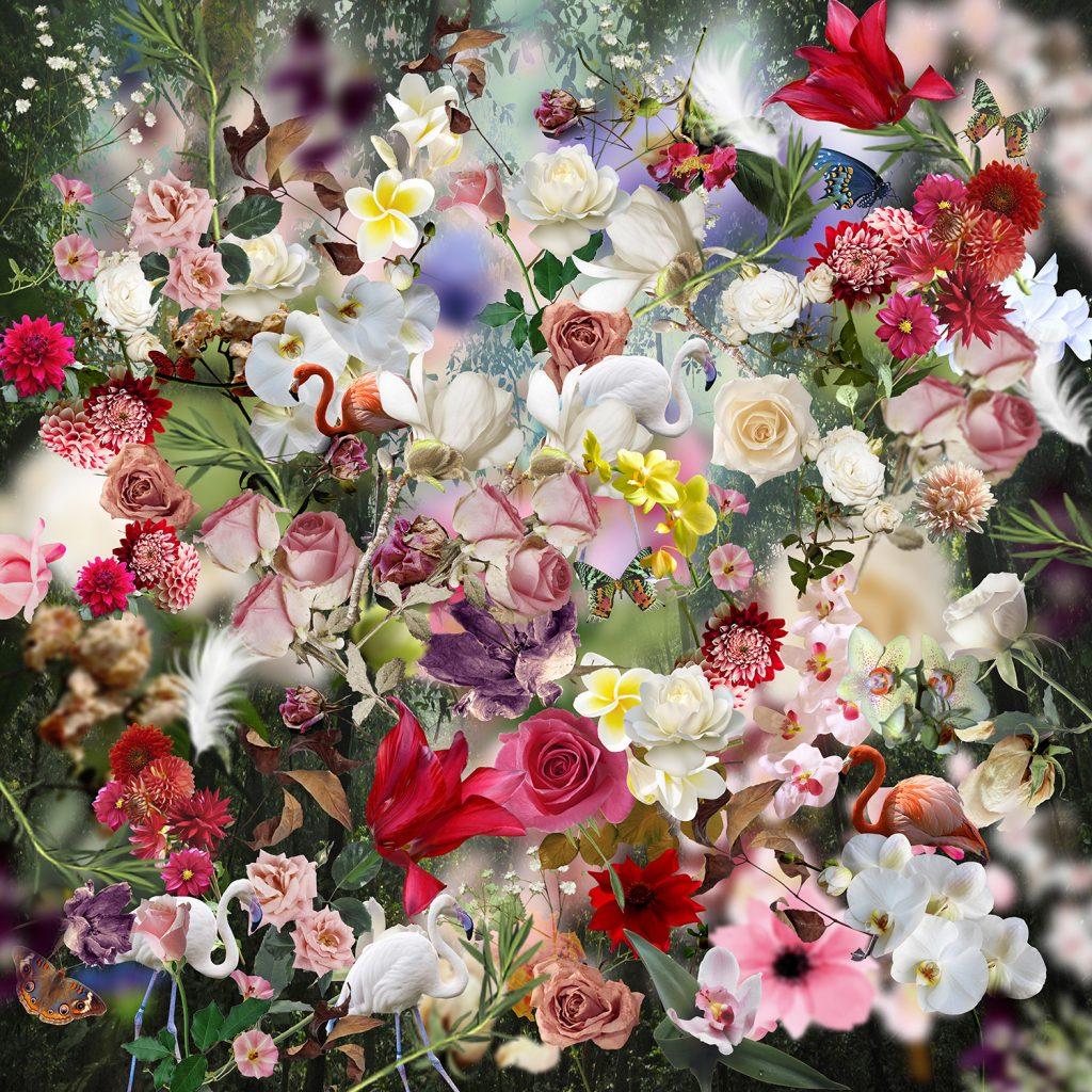 Edem Garden 4 flower art print
