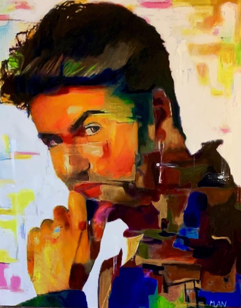 Who is George large artwork