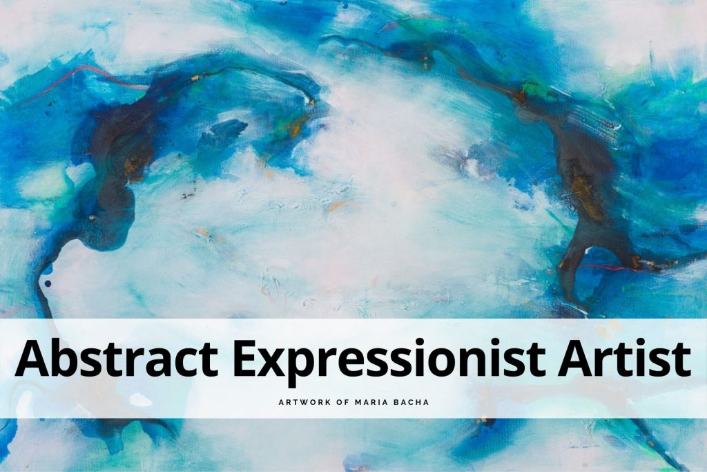 abstract expressionist artist