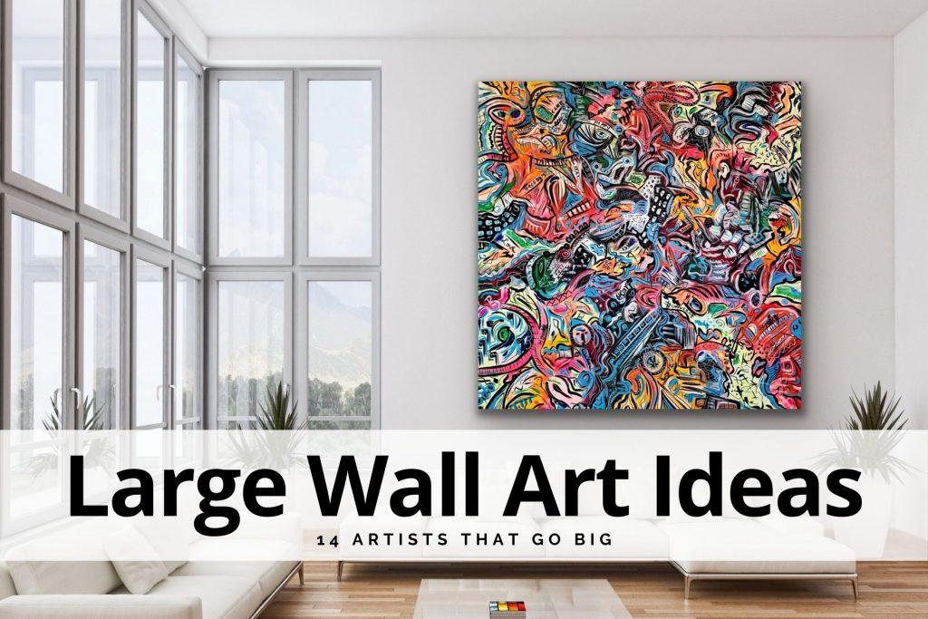 large wall art ideas