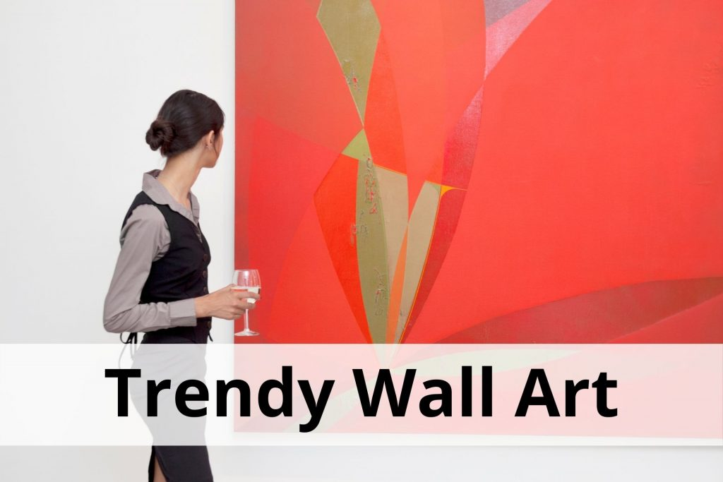 trendy wall art