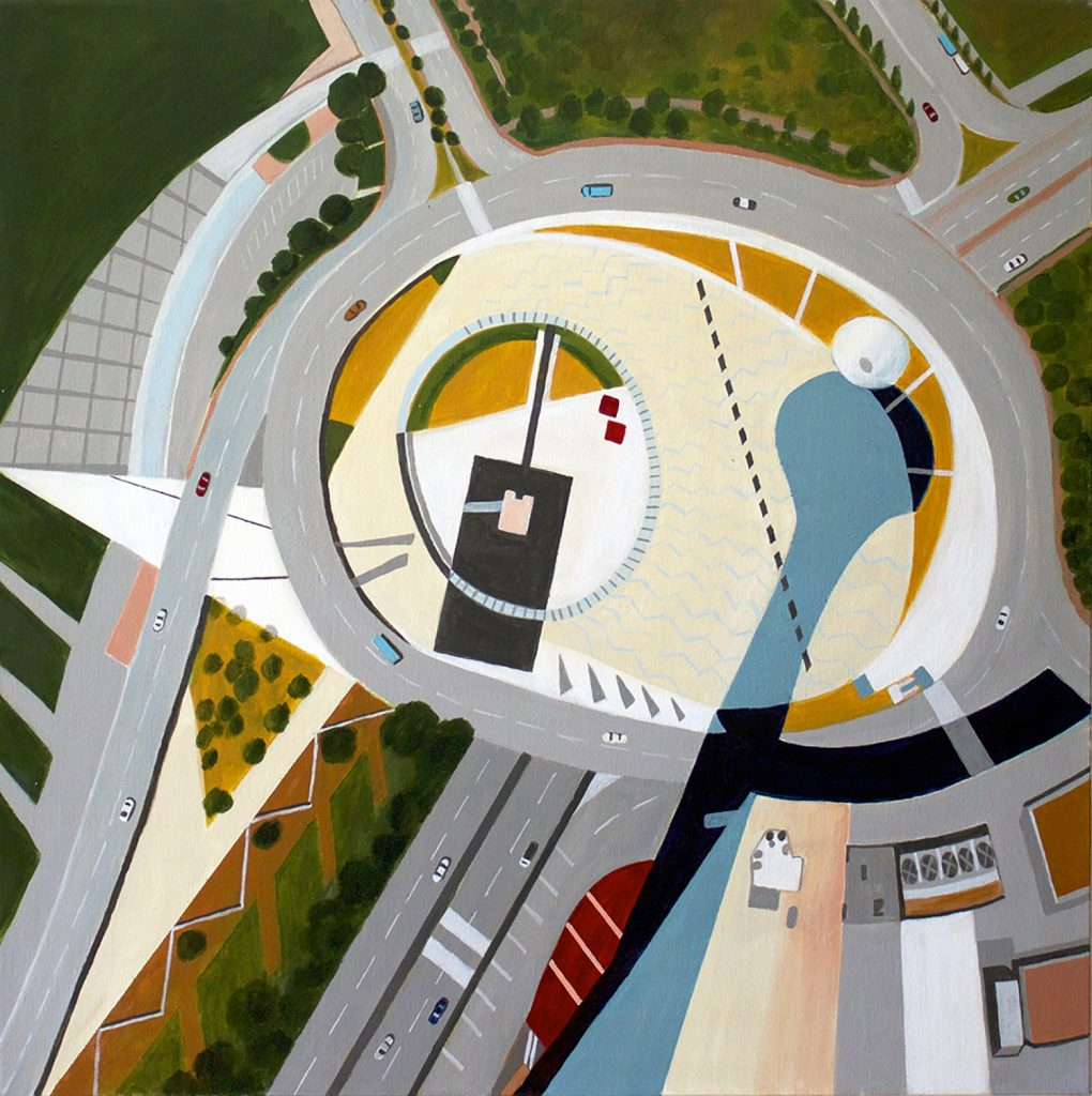 painting from the Macu Tower in China