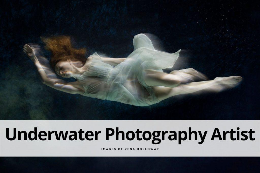 underwater photography artist Zena Holloway