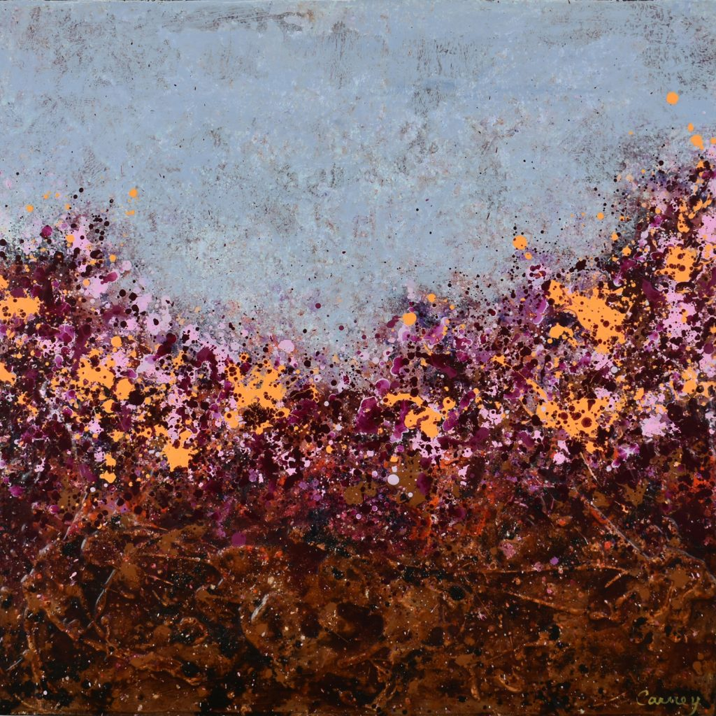 Orange Blossom contemporary abstract painters
