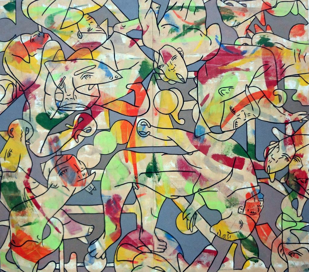 Biggest Kingdom contemporary abstract art