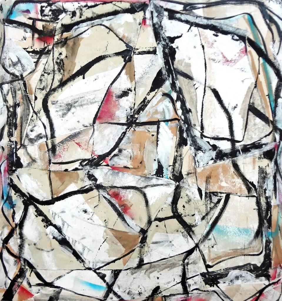 Healing Antenna abstract art