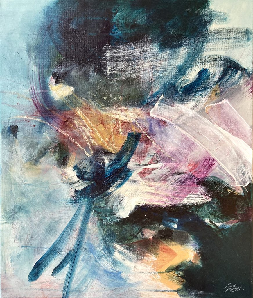 Releasing The Tension, abstract art