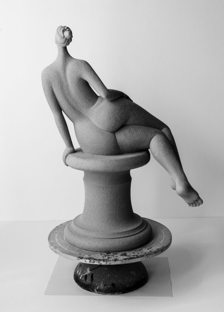 whimsical ceramic sculpture by Andrea Bucci
