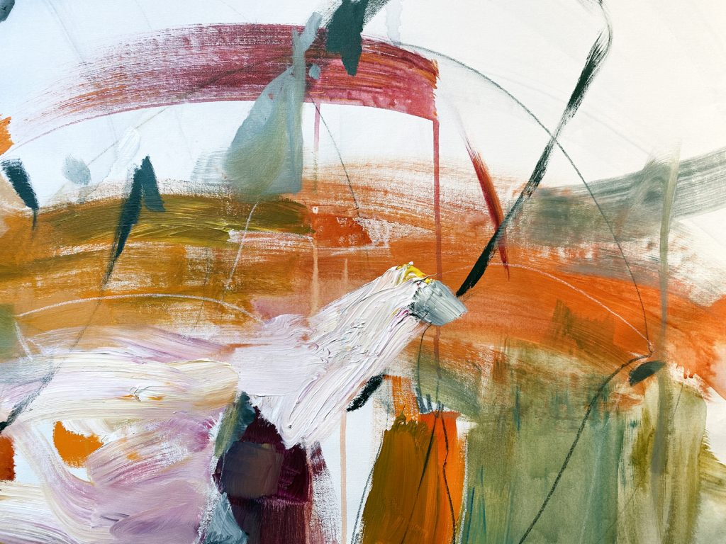 All about you, contemporary abstract art
