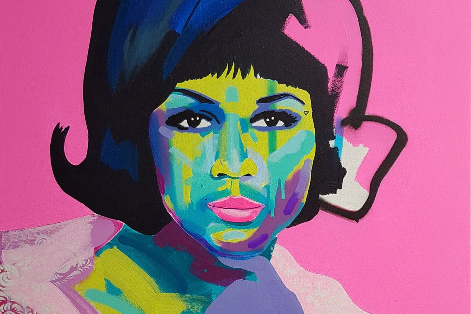 colorful pop art by Tim Fowler
