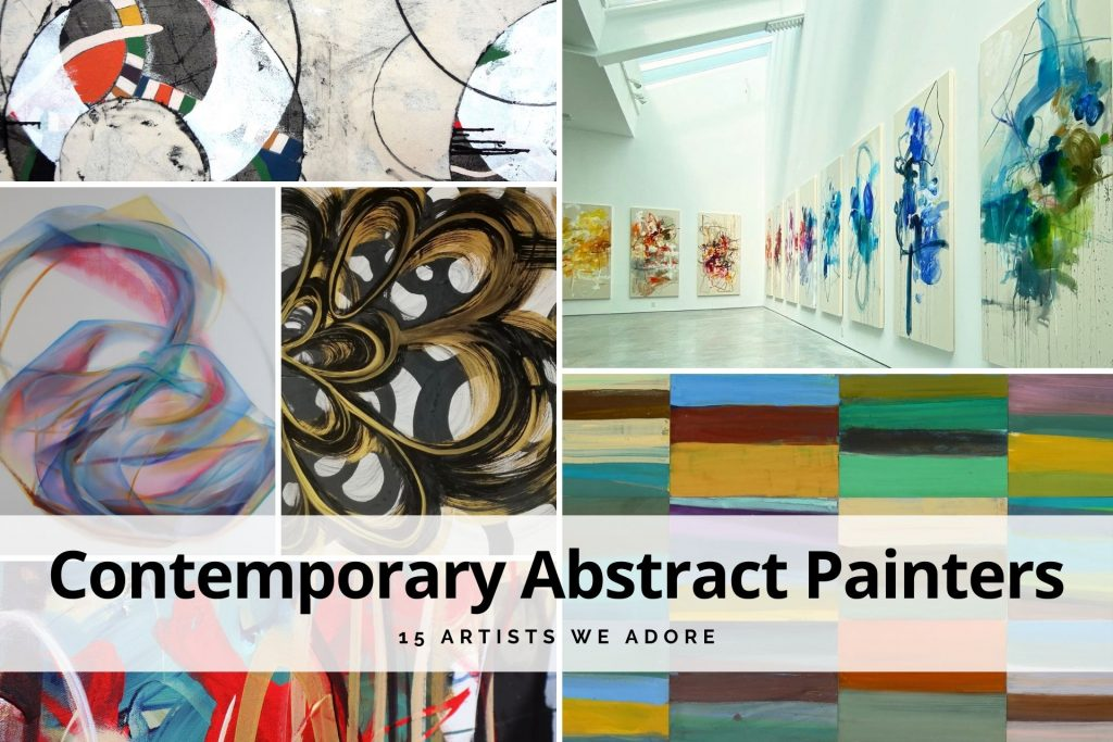 contemporary abstract painters