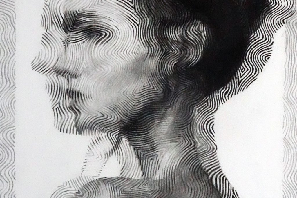 figurative charcoal drawings by Eddie Ward