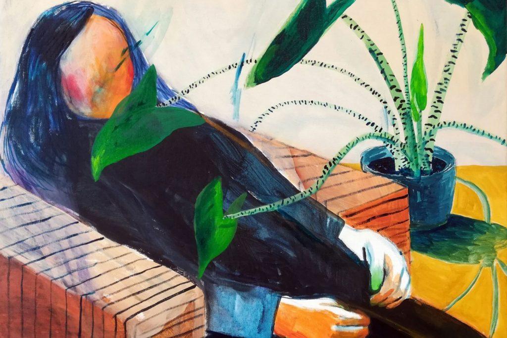figurative surrealism Hanna Ilczyszyn