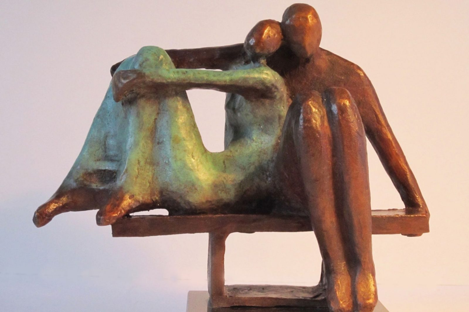 large scale sculpture by Bozena Happach
