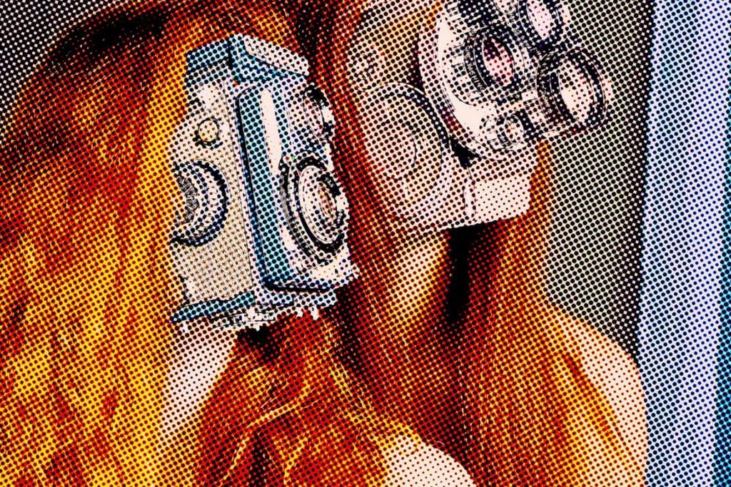 pop art photography of Jürgen Novotny