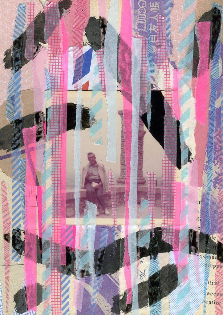 Gli Strappi Sui Muri - collage illustration