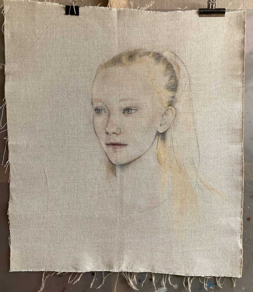 Elida - modern figurative paintings