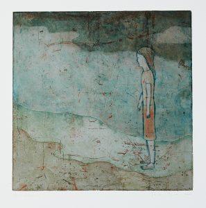 The Rain. - modern figurative paintings