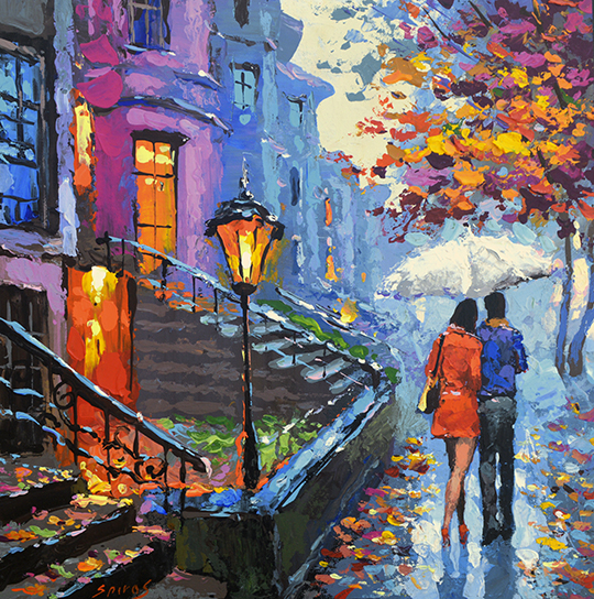 Contemporary Impressionist Artist