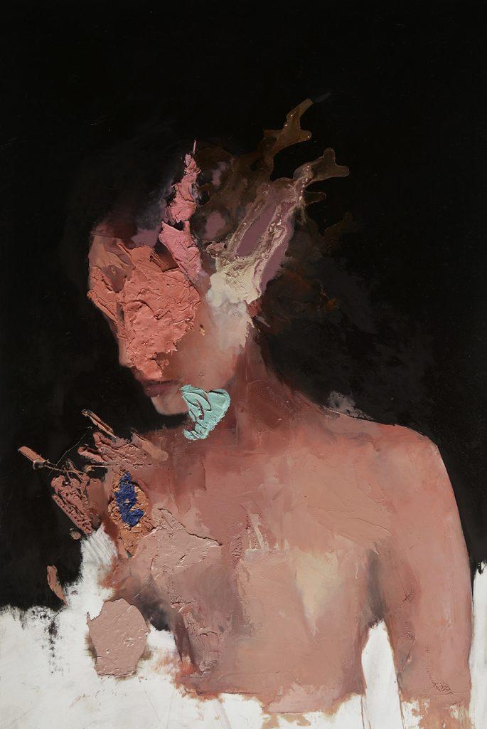 surreal portrait paintings by Jesùs Leguizamo