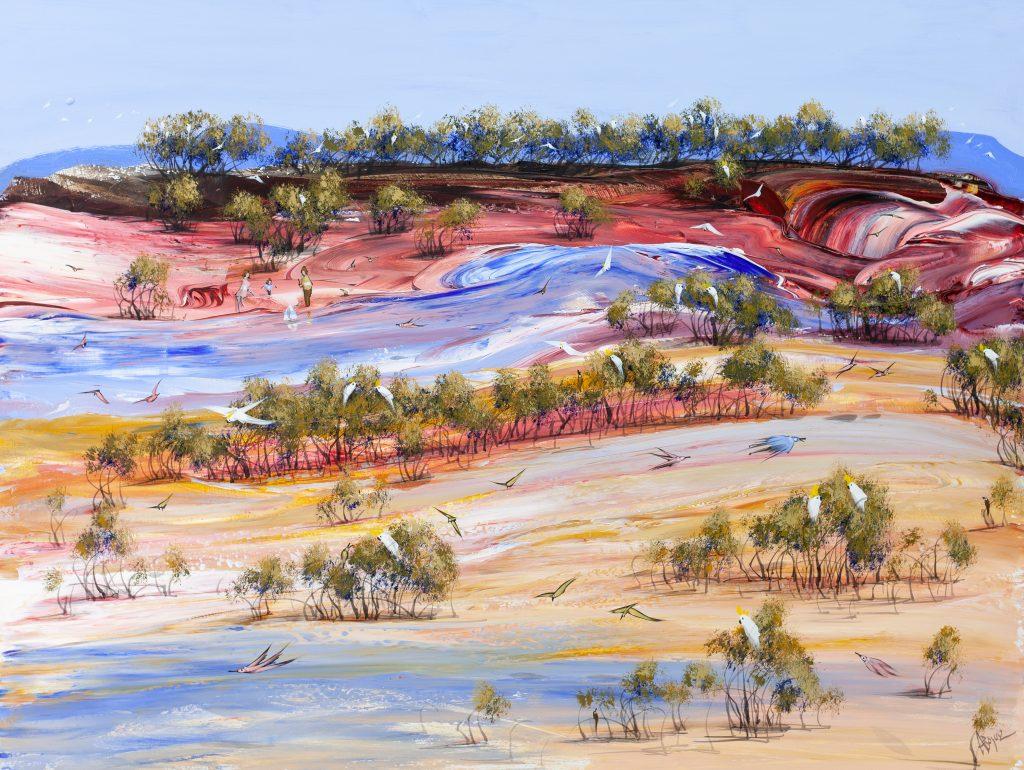 contemporary landscape artists
